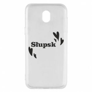 Phone case for Samsung J5 2017 I love Slupsk!