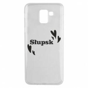 Samsung J6 Case I love Slupsk!