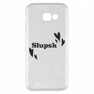 Phone case for Samsung A5 2017 I love Slupsk!