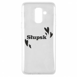 Phone case for Samsung A6+ 2018 I love Slupsk!