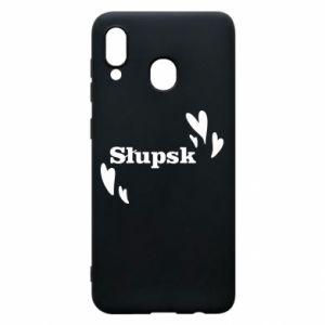 Phone case for Samsung A20 I love Slupsk!