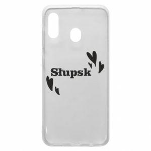 Phone case for Samsung A30 I love Slupsk!