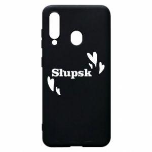 Phone case for Samsung A60 I love Slupsk!