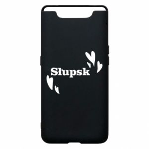 Phone case for Samsung A80 I love Slupsk!