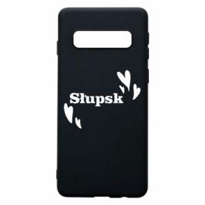 Samsung S10 Case I love Slupsk!
