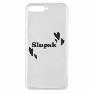 Huawei Y6 2018 Case I love Slupsk!