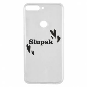 Phone case for Huawei Y7 Prime 2018 I love Slupsk!