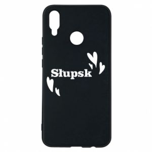 Phone case for Huawei P Smart Plus I love Slupsk!