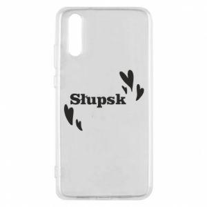 Phone case for Huawei P20 I love Slupsk!