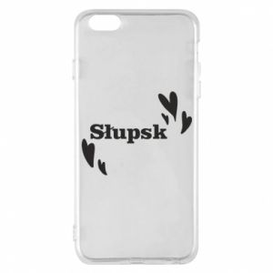 Phone case for iPhone 6 Plus/6S Plus I love Slupsk!