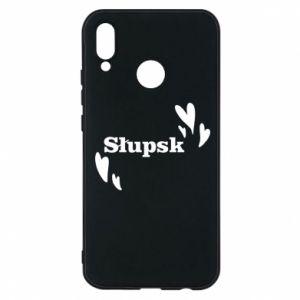 Phone case for Huawei P20 Lite I love Slupsk!