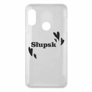Phone case for Mi A2 Lite I love Slupsk!