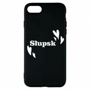 Phone case for iPhone 7 I love Slupsk!