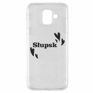 Phone case for Samsung A6 2018 I love Slupsk!