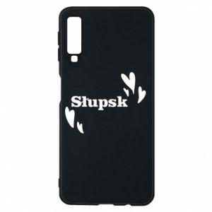 Phone case for Samsung A7 2018 I love Slupsk!