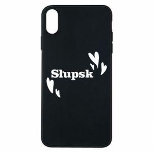 Phone case for iPhone Xs Max I love Slupsk!