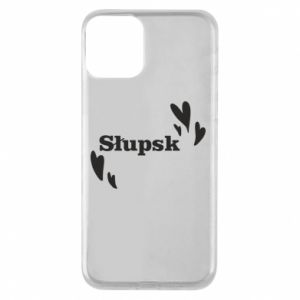 iPhone 11 Case I love Slupsk!