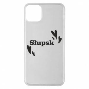 Phone case for iPhone 11 Pro Max I love Slupsk!