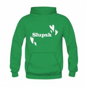 Kid's hoodie I love Slupsk!