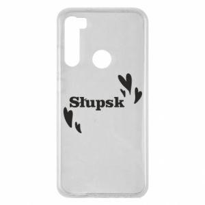 Xiaomi Redmi Note 8 Case I love Slupsk!