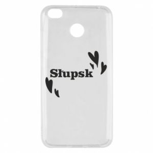 Xiaomi Redmi 4X Case I love Slupsk!