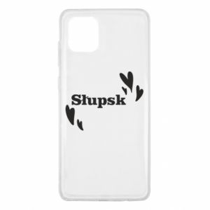 Samsung Note 10 Lite Case I love Slupsk!