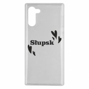 Samsung Note 10 Case I love Slupsk!