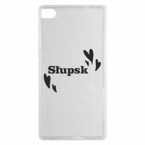 Huawei P8 Case I love Slupsk!
