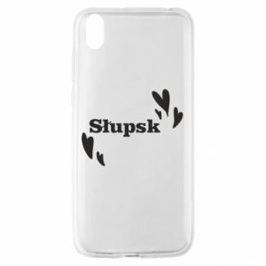 Huawei Y5 2019 Case I love Slupsk!