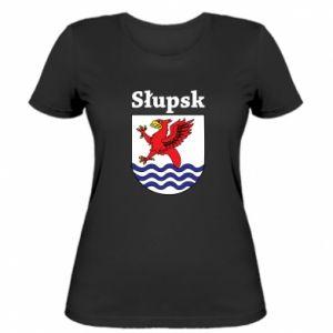 Women's t-shirt Slupsk. Emblem