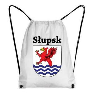 Plecak-worek Słupsk. Herb