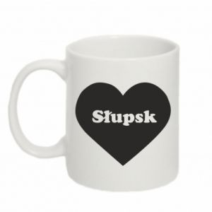 Mug 330ml Slupsk in heart