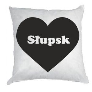 Pillow Slupsk in heart