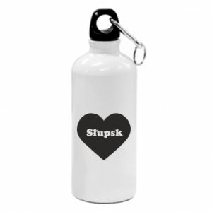 Water bottle Slupsk in heart
