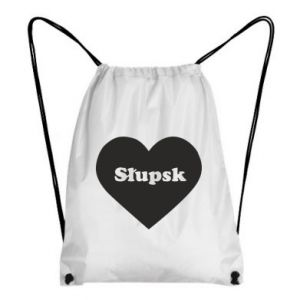 Backpack-bag Slupsk in heart