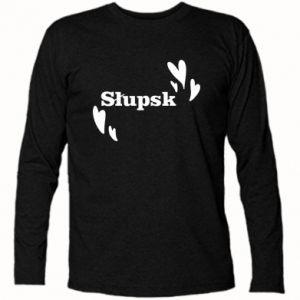 Long Sleeve T-shirt I love Slupsk!