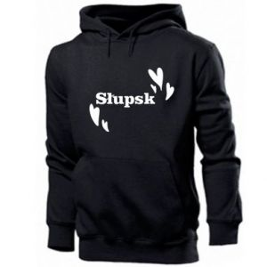 Men's hoodie I love Slupsk!