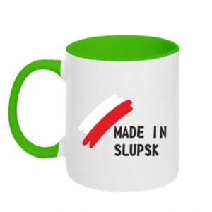 Kubek dwukolorowy Made in Slupsk