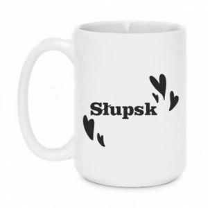 Mug 450ml I love Slupsk!