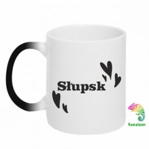Chameleon mugs I love Slupsk!