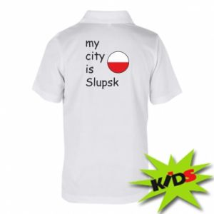 Children's Polo shirts My city is Slupsk