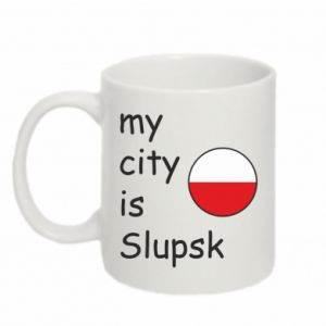 Kubek 330ml My city is Slupsk