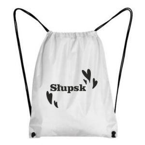 Backpack-bag I love Slupsk!
