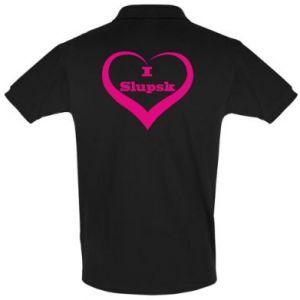 Koszulka Polo I love Slupsk