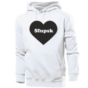 Men's hoodie Slupsk in heart