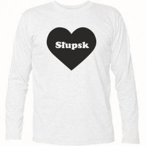 Koszulka z długim rękawem Slupsk in heart - PrintSalon