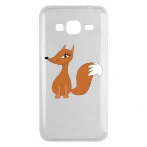 Etui na Samsung J3 2016 Small fox