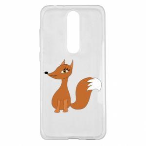 Etui na Nokia 5.1 Plus Small fox