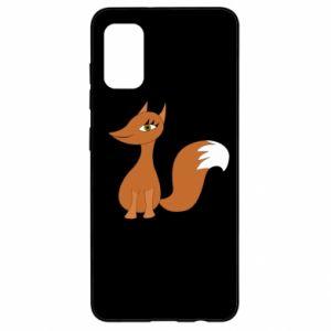 Etui na Samsung A41 Small fox