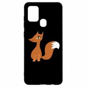 Etui na Samsung A21s Small fox